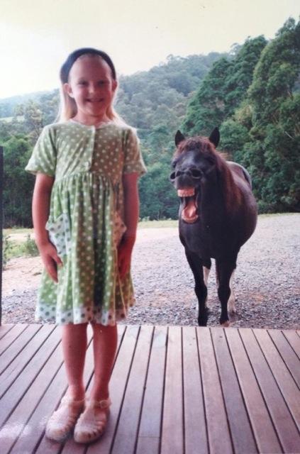 fotobomb cavalo dentuço