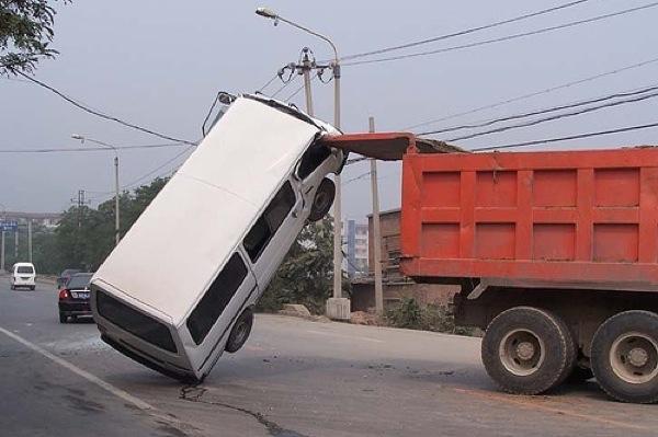 os piores motoristas do mundo que dirigem