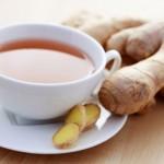 Foto de chá de gengibre para emagrecimento