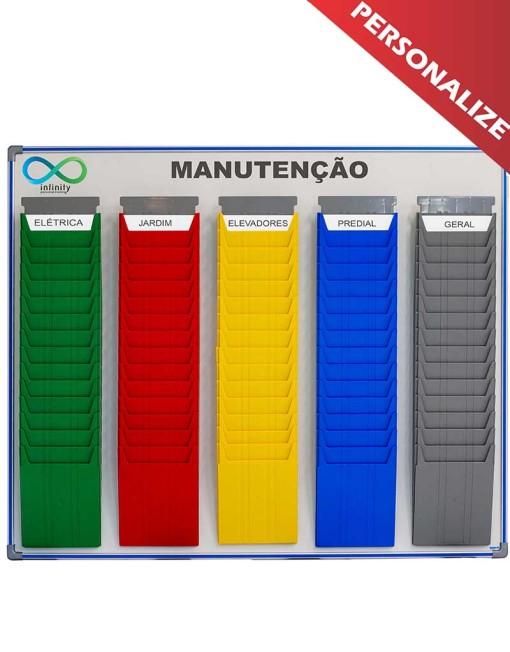 quadro de manutenção para gestão